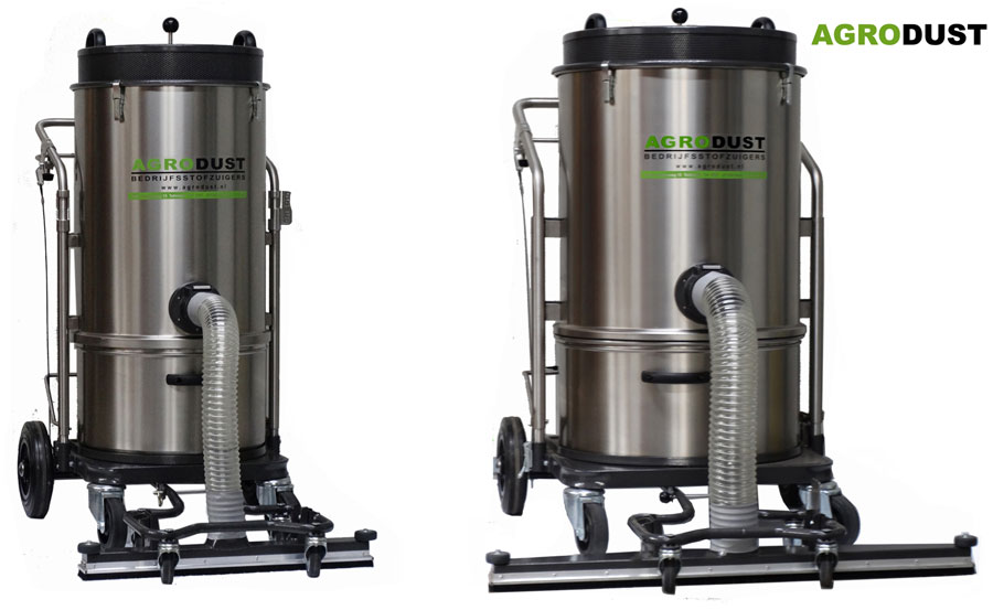 AGRODUST vacuum cleaners