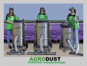 AGRODUST-bedrijfsstofzuigers