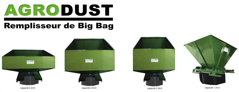 Agrodust big bag filler